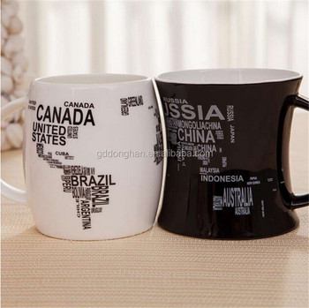 New City Design Porcelain Cup World Map Wholesale Prices Buy