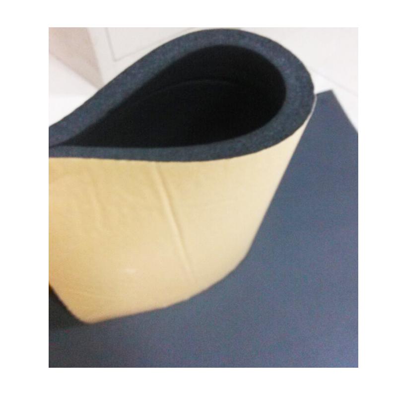 Epdm zelfklevende warmte isolatie en geluid proof schuim for Rouleau epdm