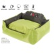 High Quality Multifunction Warm Large Wholesale Waterproof Luxury Acrylic Pet House Outdoor Memory Foam Washable Dog Bed