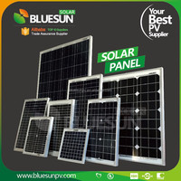 bluesun Best price mono 12v 5w solar panel