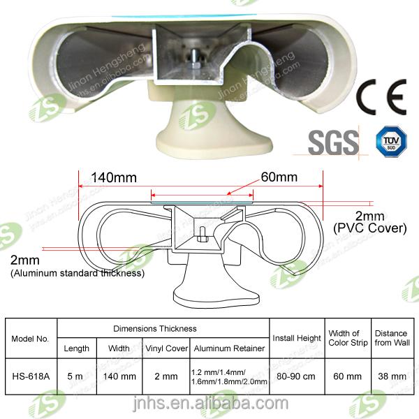 Auswirkungen wandschutz pvc kunststoff pvc krankenhaus handlauf br stung und gel nder produkt id - Wandschutz kunststoff ...