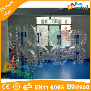 crazy soccer outdoor bubble ball toy for bubble football games