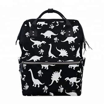 61cc54b10a Cute Kids Dinosaur Paw Print Multi-function Baby Diaper Bags Anello  Backpack Travel Bag for