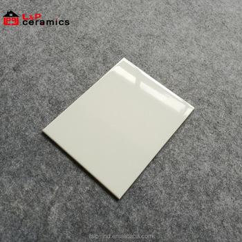 Usa Stylish 8x10 White Subway Tile Ceramic For Kitchen Backsplash Bathroom Wall