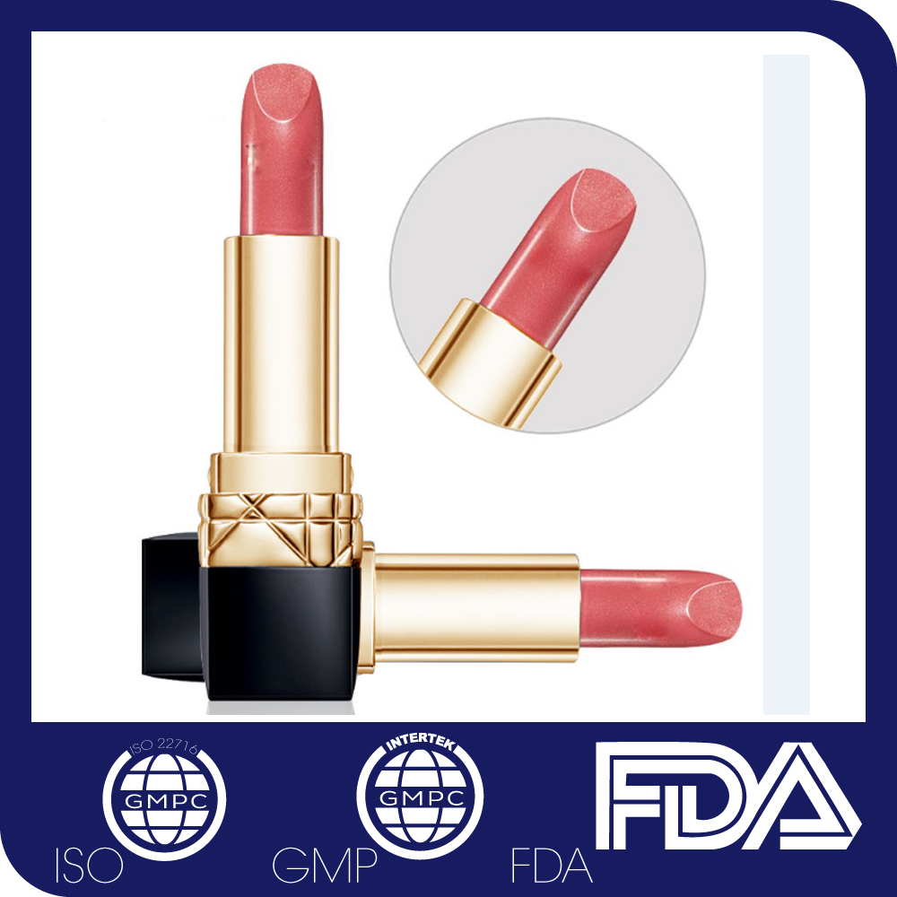 Newest 2017 Lipgloss OEM Natural Women Lipstick Private Label Organic Branded Lipstick Matte