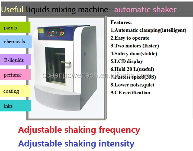 Paint color mixing machine / automatic coating colorant mixer / paint shaker for well blending