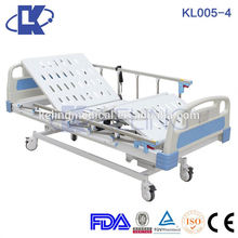 Electric 3 crank manual hospital bed electrical celebrity choice adjustable beds mobile hospital bed with commode