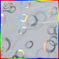 laser design glitter heat press vinyl for pvc ceiling panel