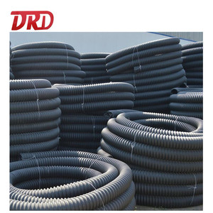 6 inch HDPE corrugated spiral pipe price