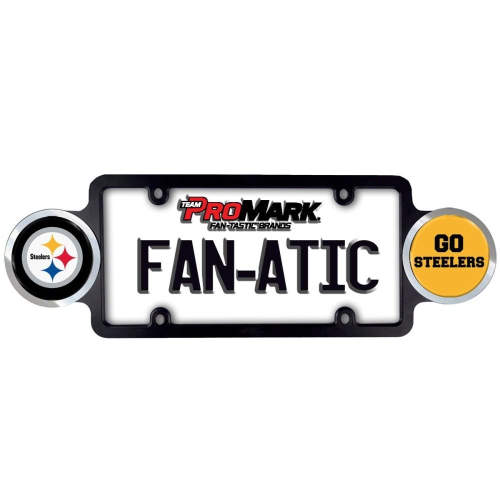 PITTSBURGH STEELERS LICENSE PLATE FRAME-NFL FOOTBALL LICENSE PLATE FRAME
