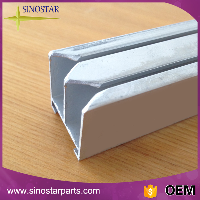 extruded aluminium channel profile for printing plate
