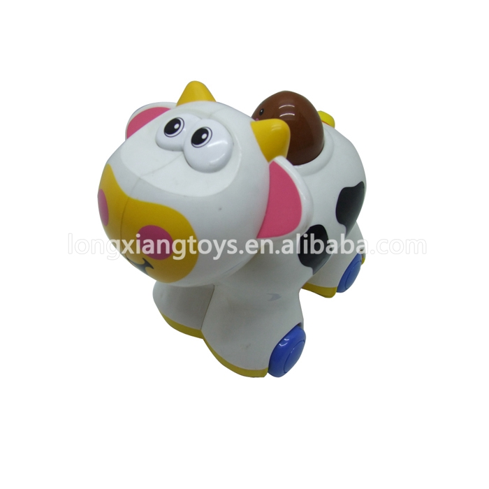 Make To Order Lovely Color Cute Cow Toy