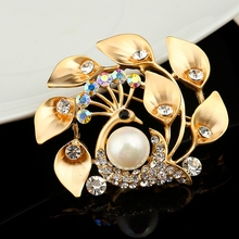 MSYO brand 2017 high quality brooch pins for women elegant design brooch jewelry