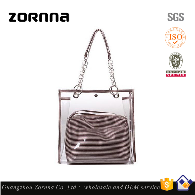 1 Dollar Patterned Beach PVC Handbag Yiwu Ladies Handbags Manufacturers