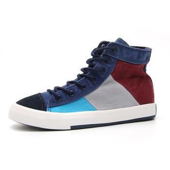 9592953f53 Cy10215a Latest Fancy Mens Canvas High Top Shoe Wholesale Male Shoes  Stylish Footwear Men - Buy Male Shoes,Footwear Men,Mens Canvas High Top  Shoe ...
