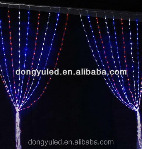 Dubai Wholesale Market White Christmas Led Connectible Curtain ...