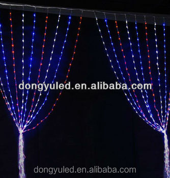 Dubai Wholesale Market White Christmas Led Connectible Curtain ...