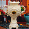 European style gold plated ceramic vase for home decor made in china