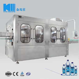 Automatic rotary drinking water making bottling machine / filling machine production line / water equipment plant sale