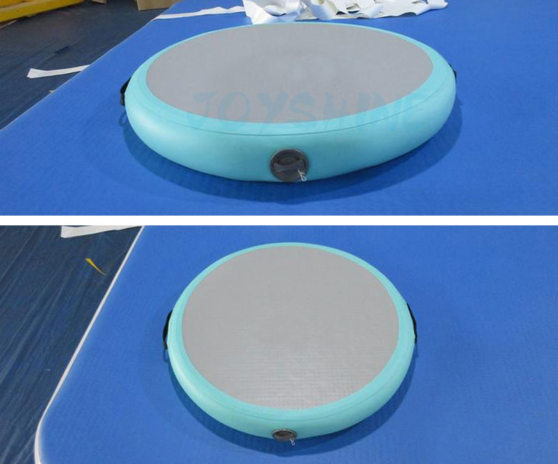 Joyshine DWF Inflatable Gymnastics Flooring Air Track Tumble Mat Manufacturer Mini Circle Airspot For Sale