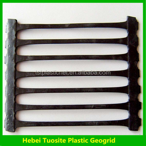 HDPE/ PP Uniaxial Geogrid / UX Geogrid with CE certificate