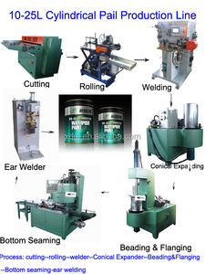 Straight paint drum Production line /producing equipment