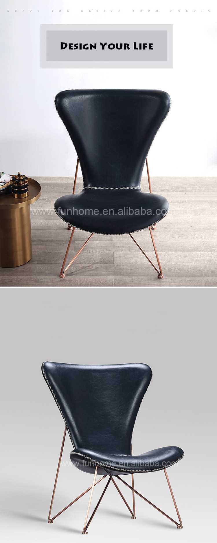 Contemporary Living Room Chair Jason Furniture Chair Leather