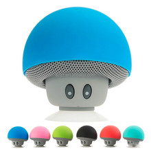 2016 Wireless Portable Waterproof Stereo Bluetooth Mini Mushroom Speaker for Mobile Phone iPhone Xiaomi