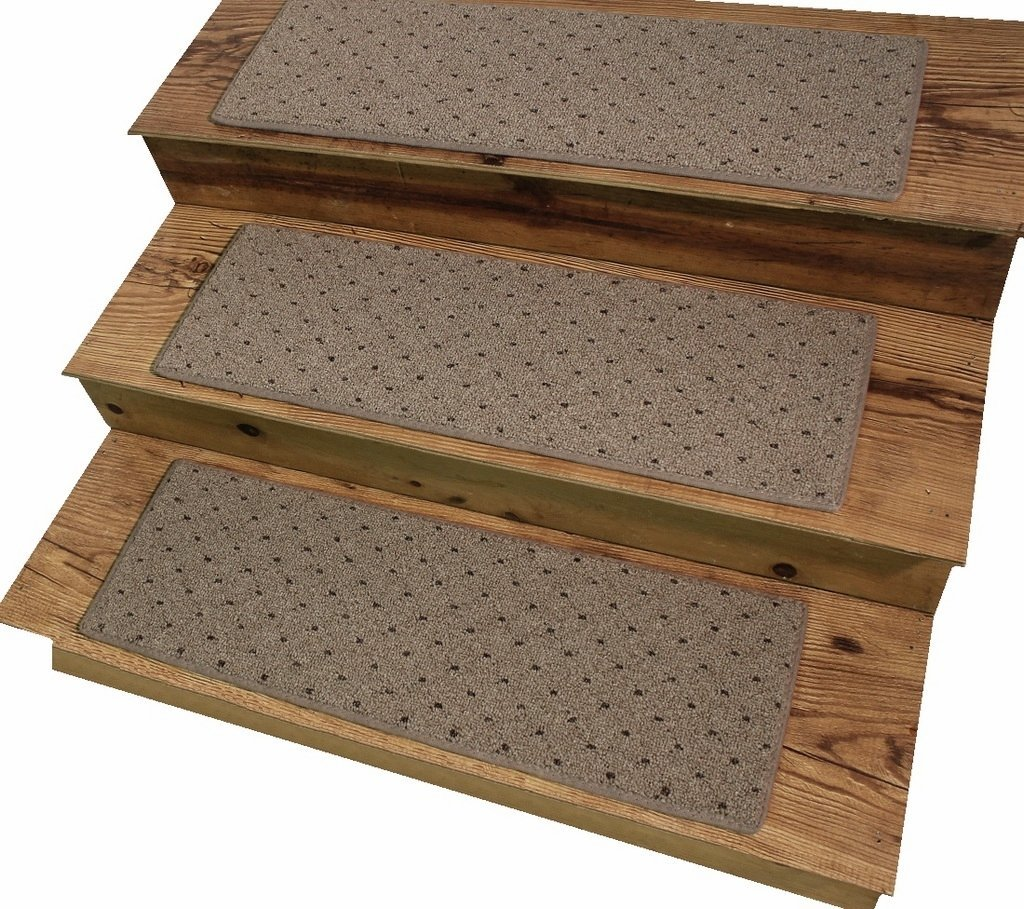 "Oakstone 9""x27"" Dog Assist Carpet Stair Treads - Sets of 12 - 16 Treads Available (15 Stair Tread Set)"