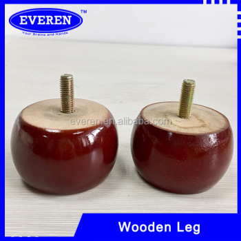 Wooden Sofa Legs With 10mm Hanger Bolts