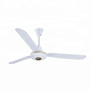 12v solar dc system metal cover ceiling fan with OEM design remote control