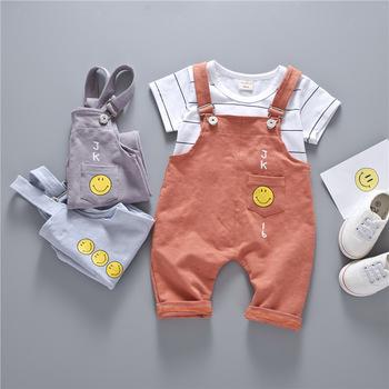 baa1e3066a87 B6322 2PCS Suit Baby Boy Clothes Children Summer Toddler Boys Clothing set