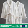 Hotel linen/Wholesale 100% cotton high quality thick hotel bathrobe from China