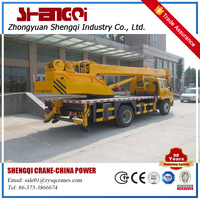 5 Ton Hydraulic Truck With Crane