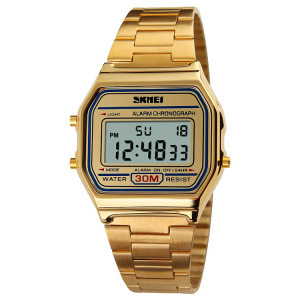 SKMEI 1123 fashion naruto wristwatch own design watch gold watch for men wristwatch for men