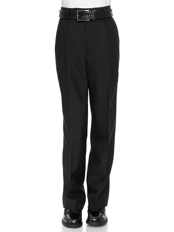 vkwear Boys Kids Juniors Slim Fit Flat Front Dress Pants Slacks Trousers