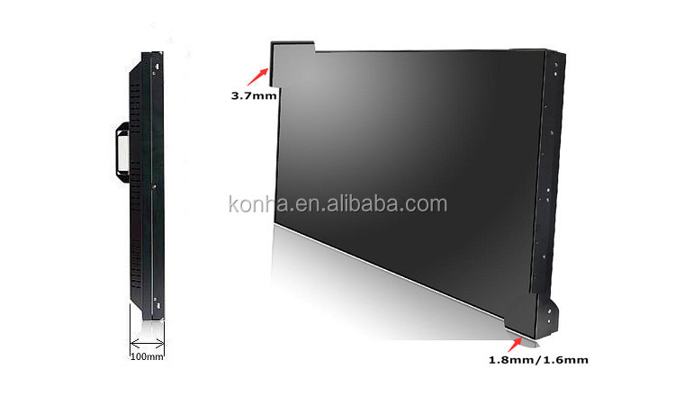 Super Narrow Bezel 46 inch Samsung 3x3 LCD Video Wall with Good Quality for Sale