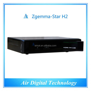 IPTV youtube HD Zgemma-star h2 tiger satellite receiver Combo dvb s2 dvb t2  satellite receiver no dish
