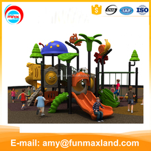 Factory pp woodland play equipment outdoor playground with swing plastic toy dog playground equipment for sale