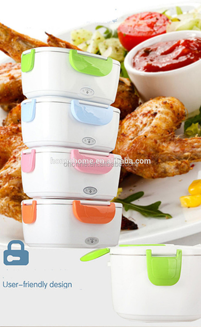 1.05L 두 번 Voltage 차/홈 Use 전기 Lunch Box 와 이동식 304 Stainless Steel Container
