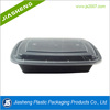 Eco-friendly plastic disposable fast food container with lid