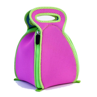 Neoprene picnic bag insulated lunch cooler bag children lunch bag