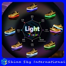 Novelty beyond shoe fashion, dancing running luminous led shoes cheap shoes, new year gift luminous led shoes cheap shoes
