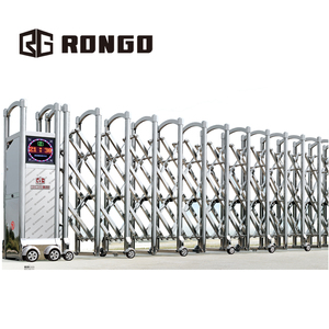 Motorized Intelligent Expandable Automatic Retractable Gate for Factory Entrance JG-325