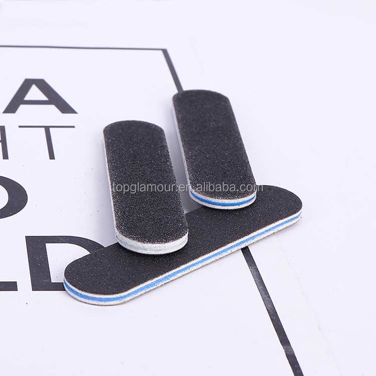 Hot Sale ! Promotion Nail Art Double Side Type Small Mini Nail File, N/a