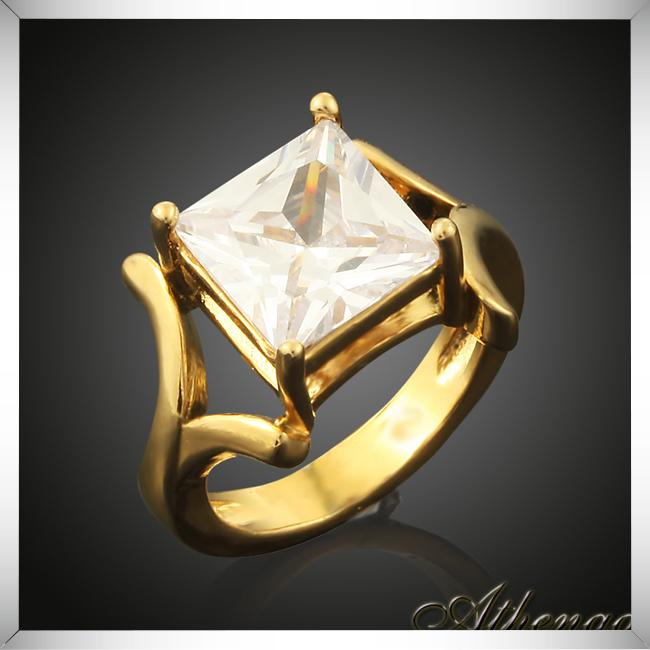 High Quality Single Stone Ring Designs Engagement Wedding Ring 18k
