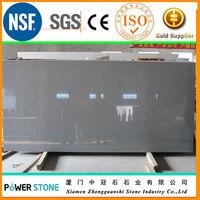 Grey Crystal Quartz Stone kitchen tile