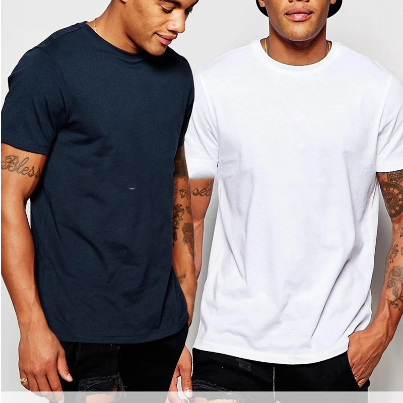 e1679a194067 T Shirts Plain Fitted Muscle Fit T Shirt Stretch Film T Shirt - Buy ...