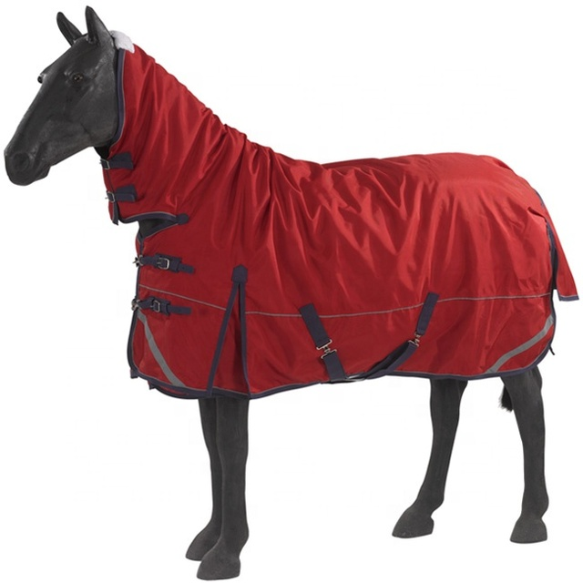 Two-in-one Classic polyester winter turnout horse blanket