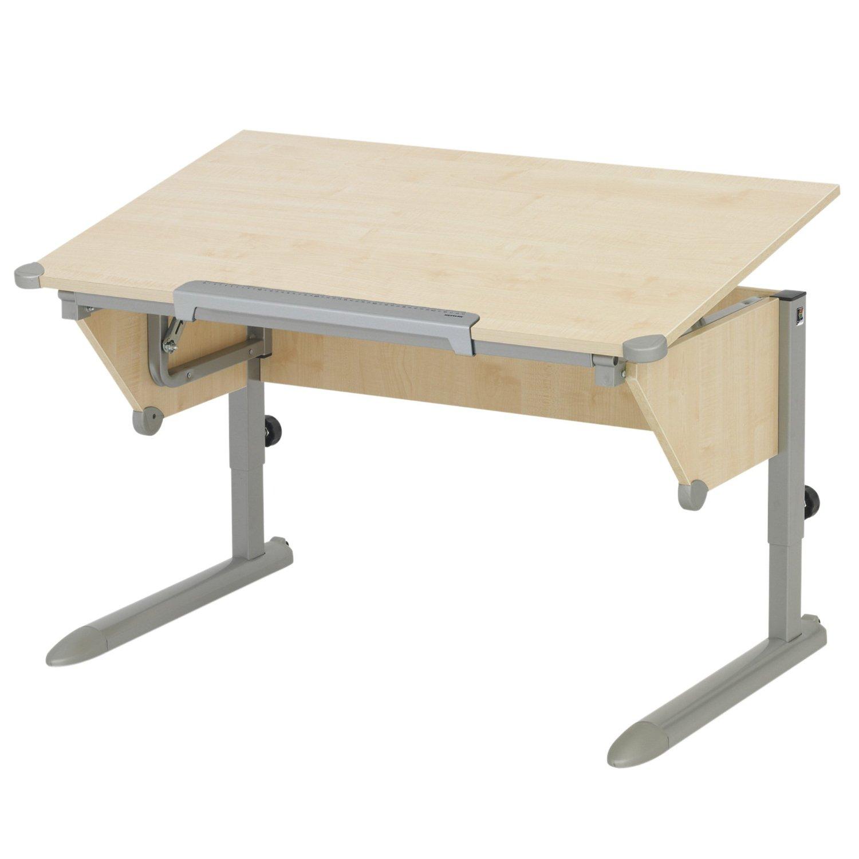 Kettler Cool Top Desk, Maple/Silver